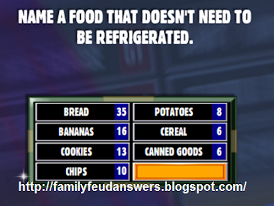 facebook family feud answers name a food that doesn 39 t. Black Bedroom Furniture Sets. Home Design Ideas
