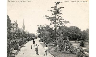Le Jardin des Plantes de Nantes à travers les cartes postales ...