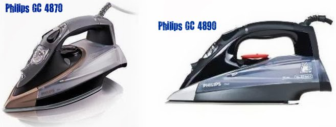 Модели Philips GC 4870 и Philips GC 4890