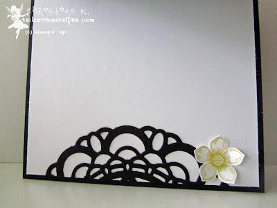 stampin up, paper doily, petite petals, zierdeckchen, flower shop,