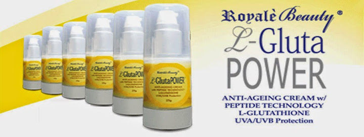 Hide Your Age No More with L-Gluta Power Anti-Ageing Cream!