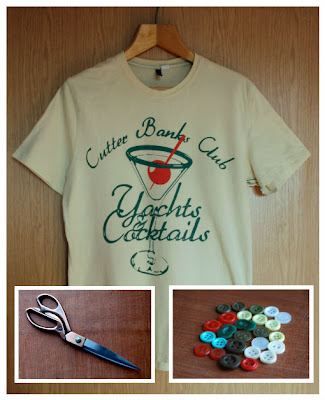 T-Shirt Makeover Materials