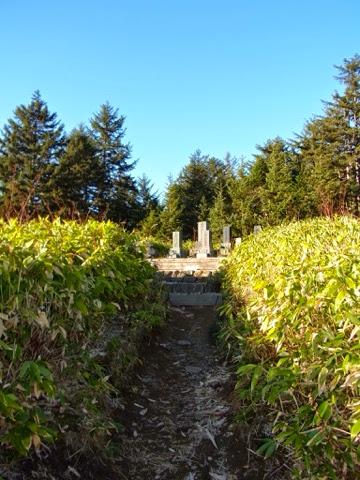 平野家の墓地