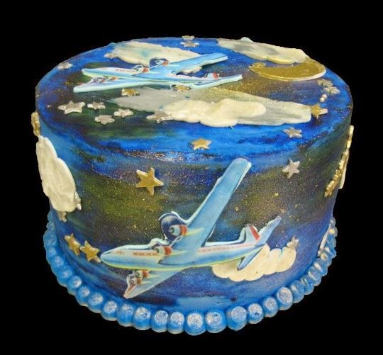 Airplane Birthday Cakes