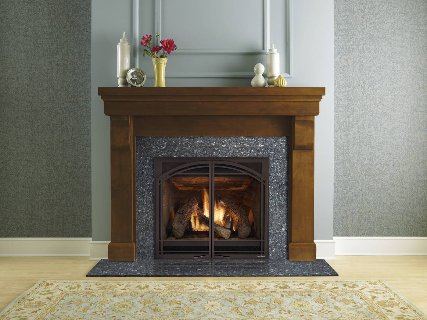 Upgrade To A Gas Fireplace For Fall All Year Chimney Sweeps Repair