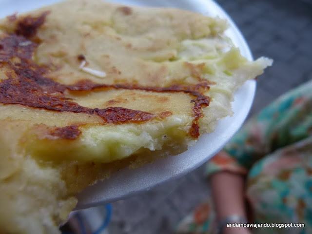Pupusa de queso