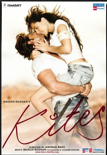 Poster Of English Movie Kites (2010) Free Download Full New Hollywood Movie Watch Online At Alldownloads4u.Com