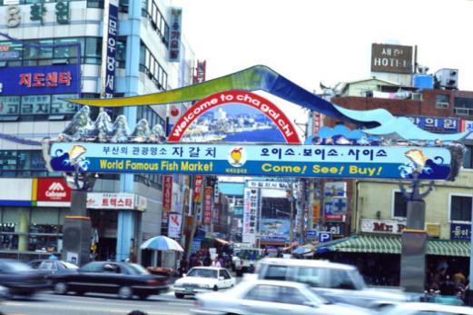 釜山市内(イメージ)