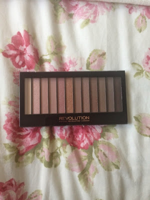 Makeup revolution palette in redemption