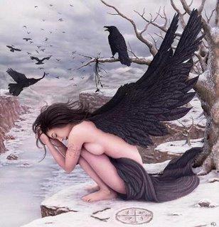 Imagen de angel caído