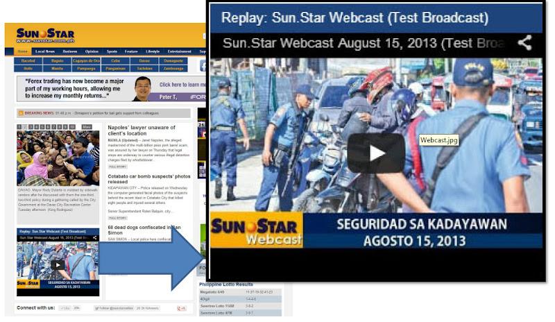 Sun.Star webcast