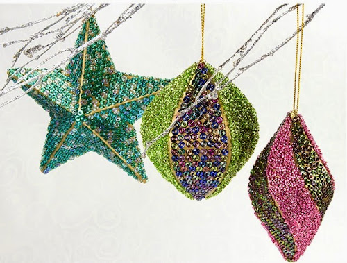 Sugar Plum Dreams Ornaments by Artbeads.com
