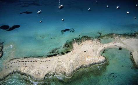 Formentera, litoral