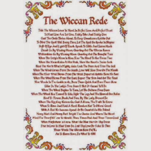 Exegesis On The Wiccan Rede