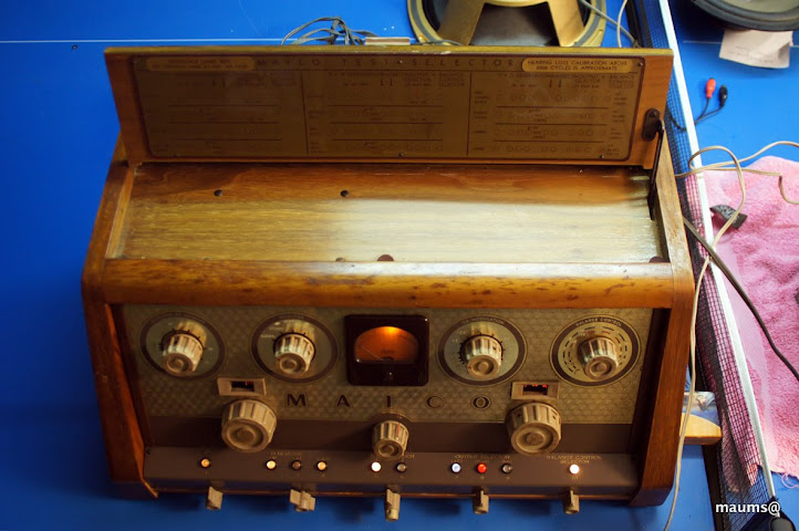 Vintage Maico Tube Amplifier Medical Audiometer Hearing
