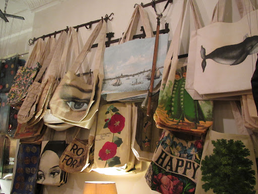 Tote bags in more of those fabulously classic John Derian prints.
