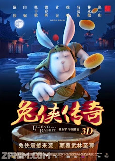 Kungfu Thỏ Ngố - Legend Of A Rabbit (2012) Poster