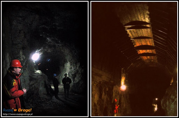 Kompleks Osówka - podziemne korytarze
