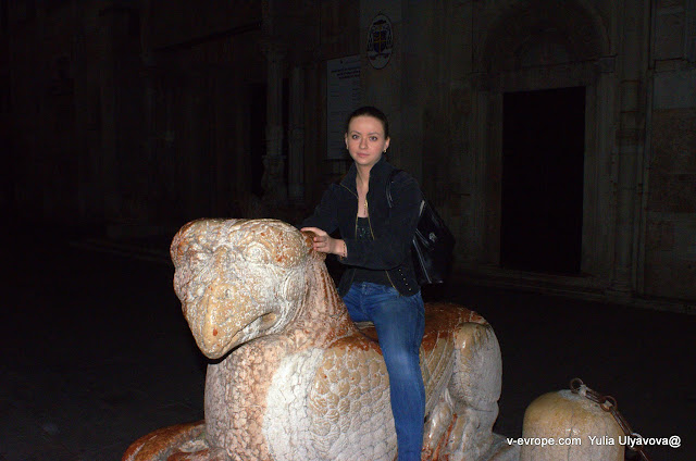 катаюсь на гиппогрифе, Феррара, Италия