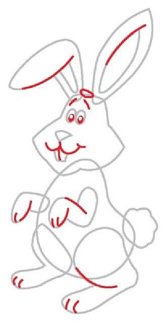 рисуем зайца поэтапно3