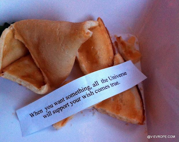 fortune cookie, печенье с предсказанием, аэрофлот самолет завтрак, полет в китай, долгий перелет