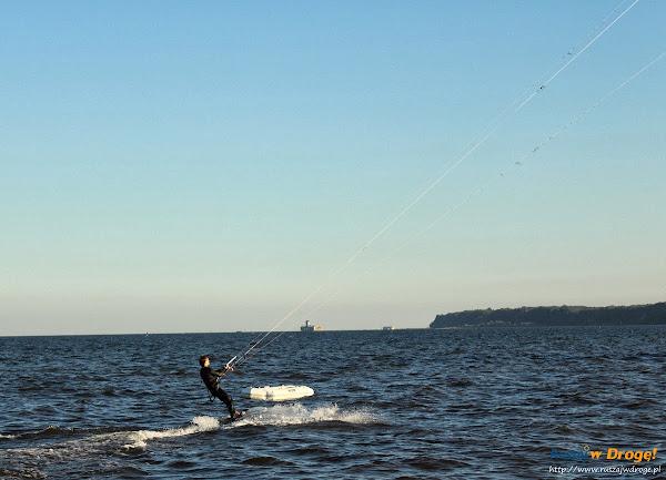 Kitesurfing w Rewie