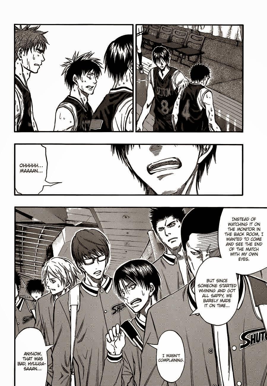 Kuroko no Basket Manga Chapter 247 - Image 04