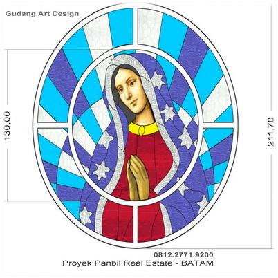 Desain Kaca Patri Gereja