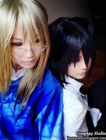 loveless cosplay - agatsuma soubi and aoyagi ritsuka