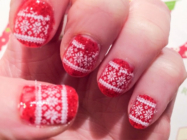 christmas-manicure