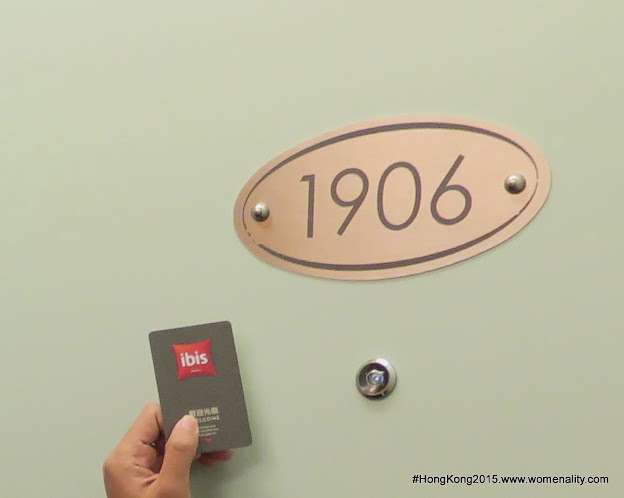 Room 1906, Ibis Hotel North Point, Hong Kong - 2015