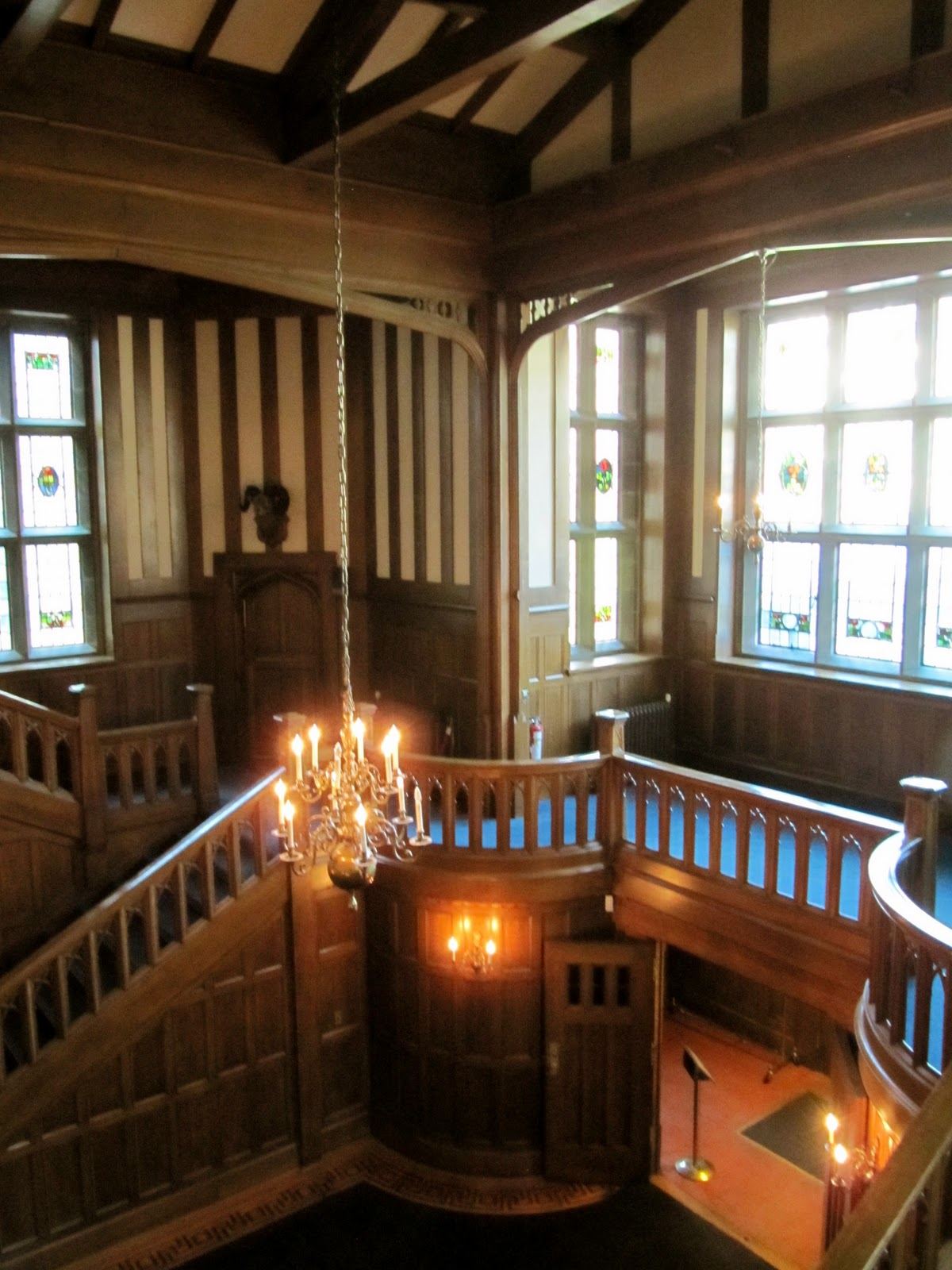 Interior: Travelousness: Hatley Castle