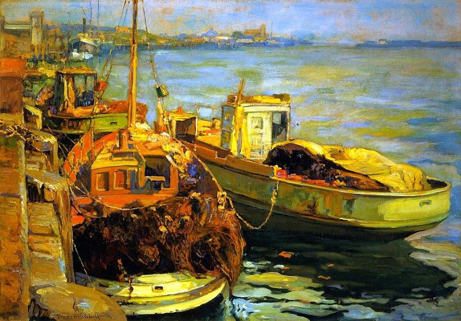 Franz Bischoff - San Pedro Fishing Boats