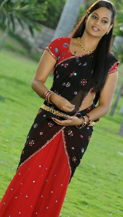 suja very in half saree cute stills