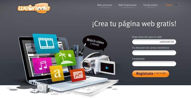 Sitios para crear paginas web gratis