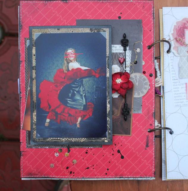 Красная с черным страница
