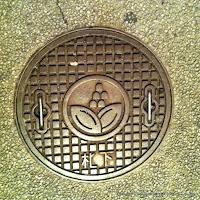 札幌市下水道デザインハンドホール蓋