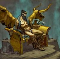 Ραδάμανθυς στην ελληνική μυθολογία ήταν ήρωας της Κρήτης, ένας από τους γιούς του Θεού Δία και της Ευρώπης, αδελφός του Μίνωα και του Σαρπηδόνα.