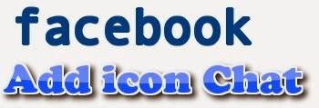 Hình 1: thêm biểu tượng chat facebook