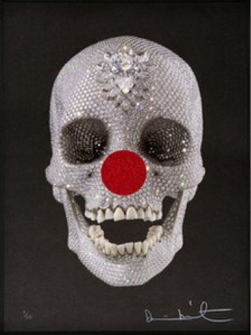 {Art} Damien Hirst for Red Nose Day 2013