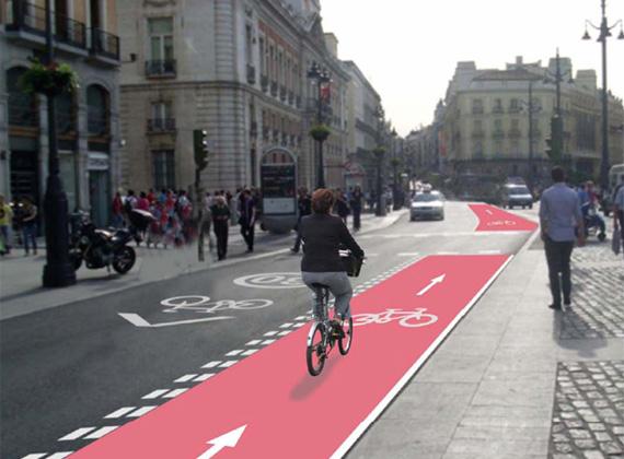Adjudicado el eje ciclista Mayor-Alcalá, que empezará a ejecutarse en septiembre