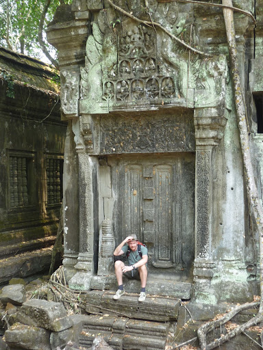Beng Mealea in Cambodia