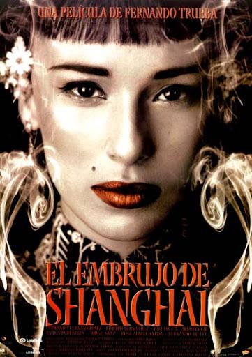 """Cartel de la película """"El embrujo de Shangai"""", dirigida por Fernando Trueba y protagonizada por Ariadna Gil"""
