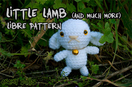 Lamb sheep amigurumi free pattern - Enemy Dolls