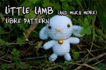 Lamb sheep amigurumi free pattern - Enemy Dolls
