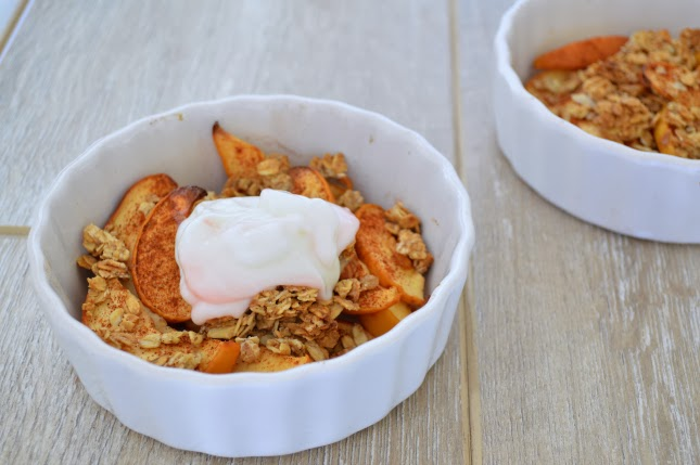 Healthy Baked Apple Crisp