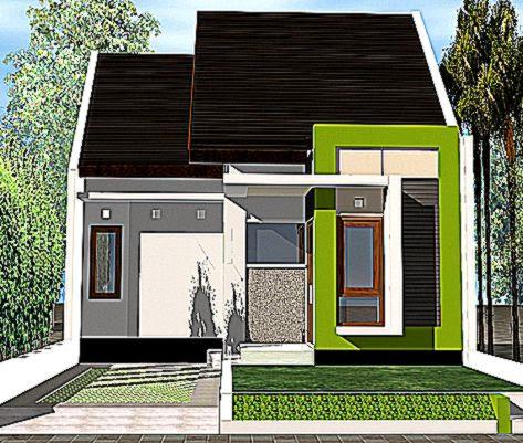contoh rumah sederhana minimalis gallery taman minimalis