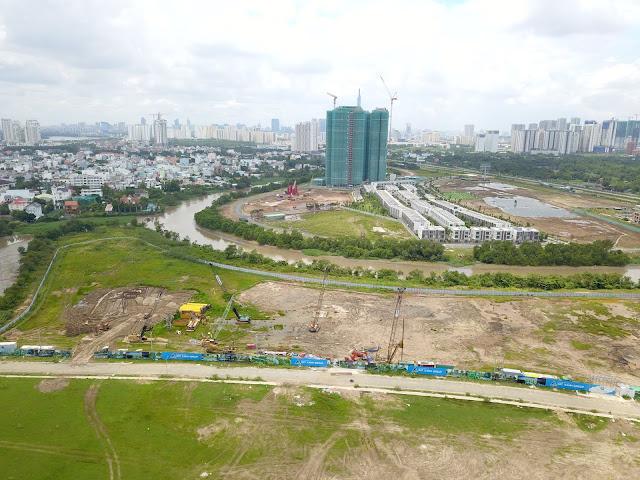 Liền kề với những siêu dự án trong khu vực Song Hành Cao Tốc
