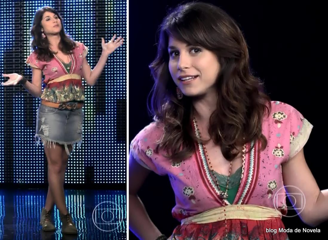 moda da novela G3R4Ç4O BR4S1L - look da Manuela dia 16 de junho