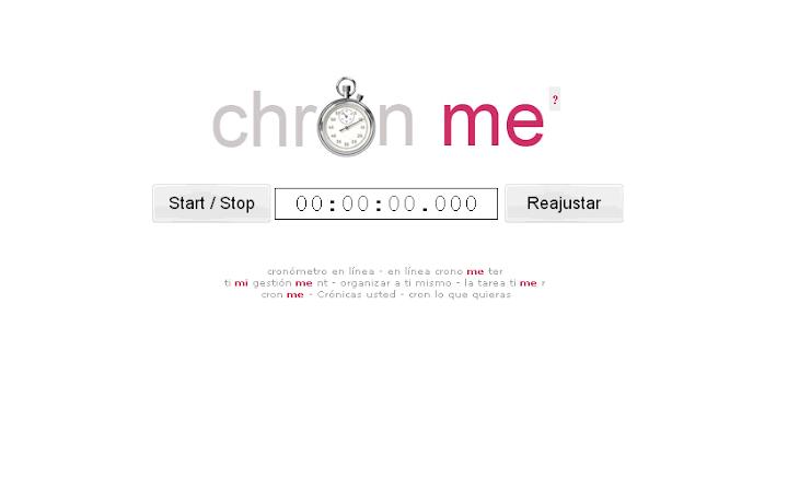 Cronómetro online